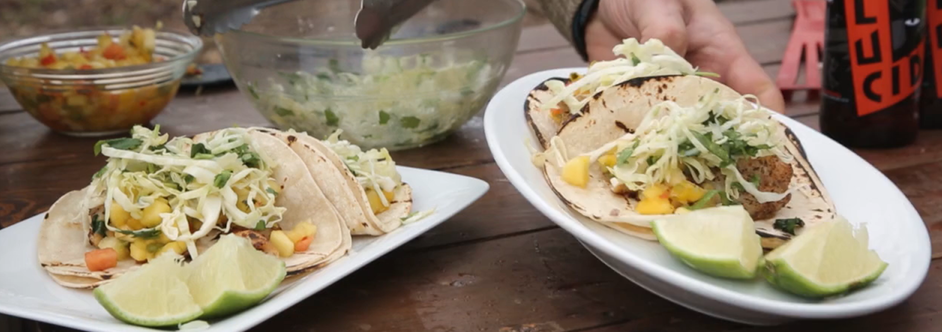 Panfish Tacos – Make My Meal with Chef Lukas Leaf (VIDEO & RECIPE)