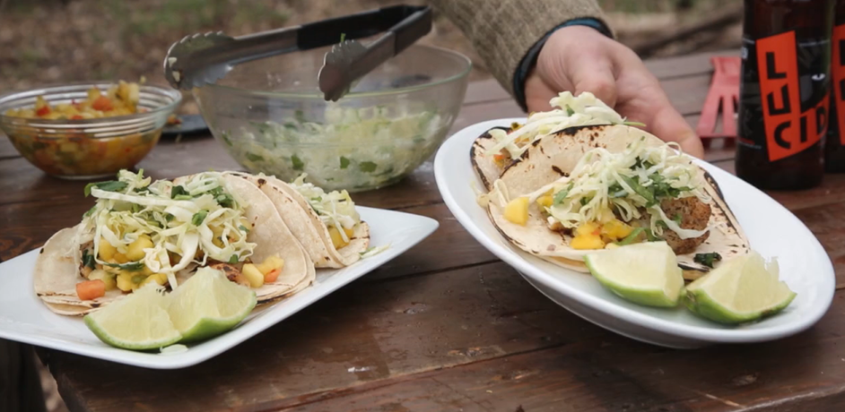 Panfish Tacos with Chef Lukas Leaf