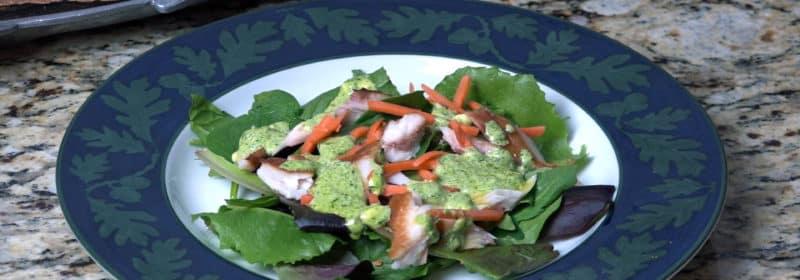Smoked Lake Whitefish Salad with Aioli Dressing
