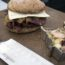 Goose Pastrami Sandwich with Smoked Whitefish/Wild Rice Salad at Camp Chef Cook-off