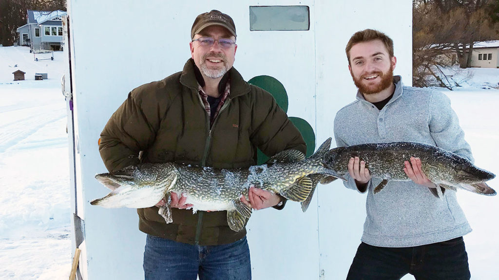 Northern Pike Spear Fishing