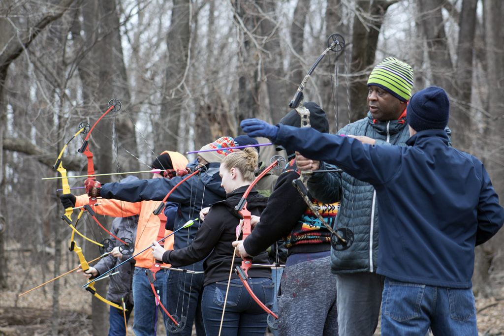 Modern Carnivore Experience learning archery