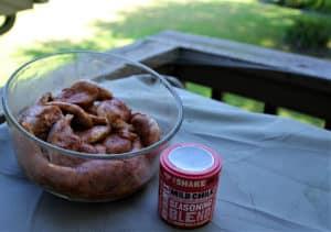 Seasoned squirrel meat