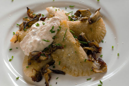 Duck Confit and Wild Mushroom Pierogies Modern Carnivore