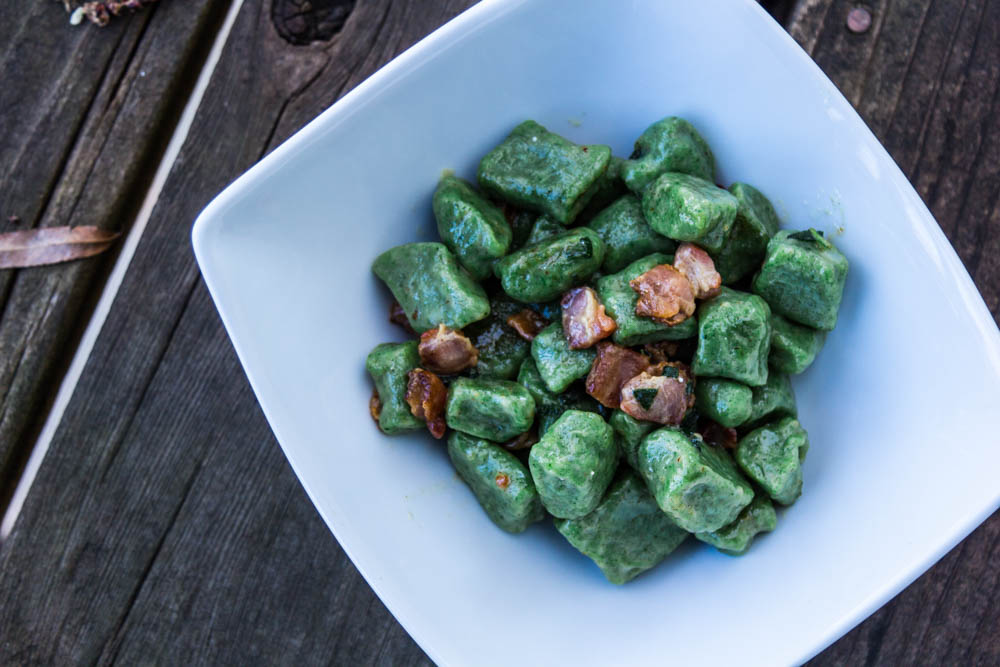 Nettle-gnocchi-with-bacon-and-sage