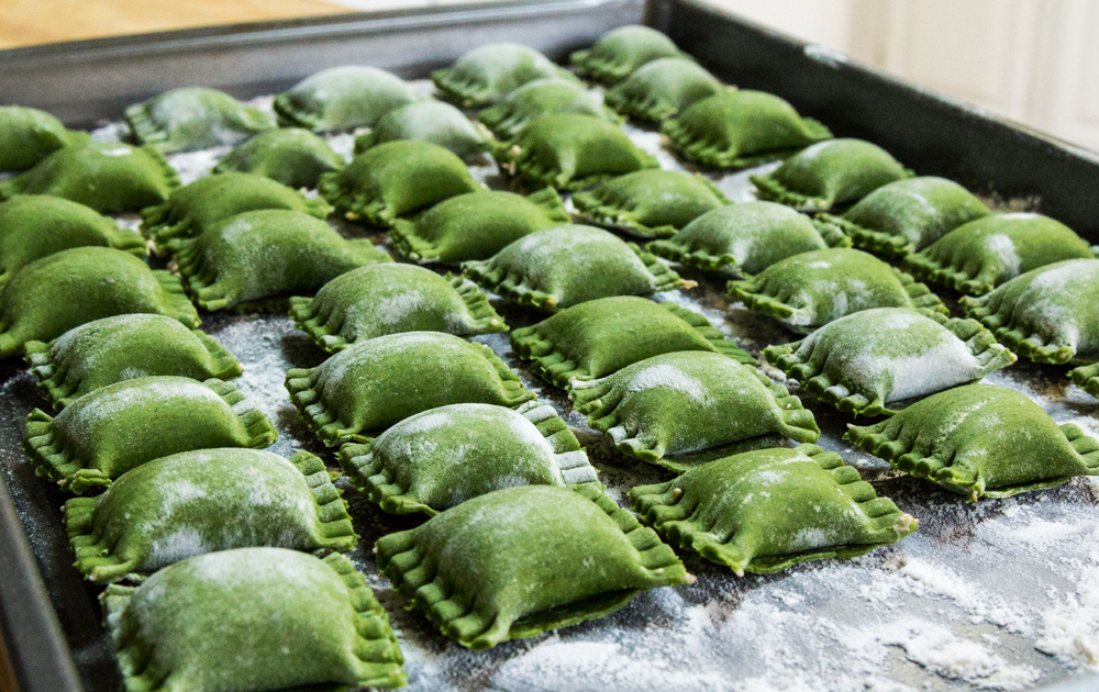 nettle-agnalotti-with-mushroom-filling