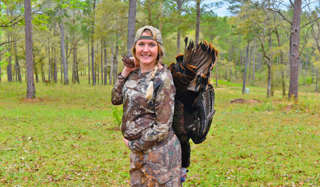 Ali's New Adventure Modern Carnivore 28 weeks pregnant turkey hunting