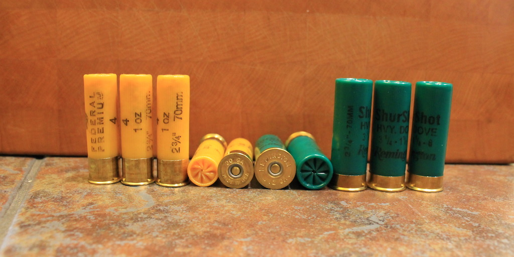 20 gauge vs 12 gauge shotshells