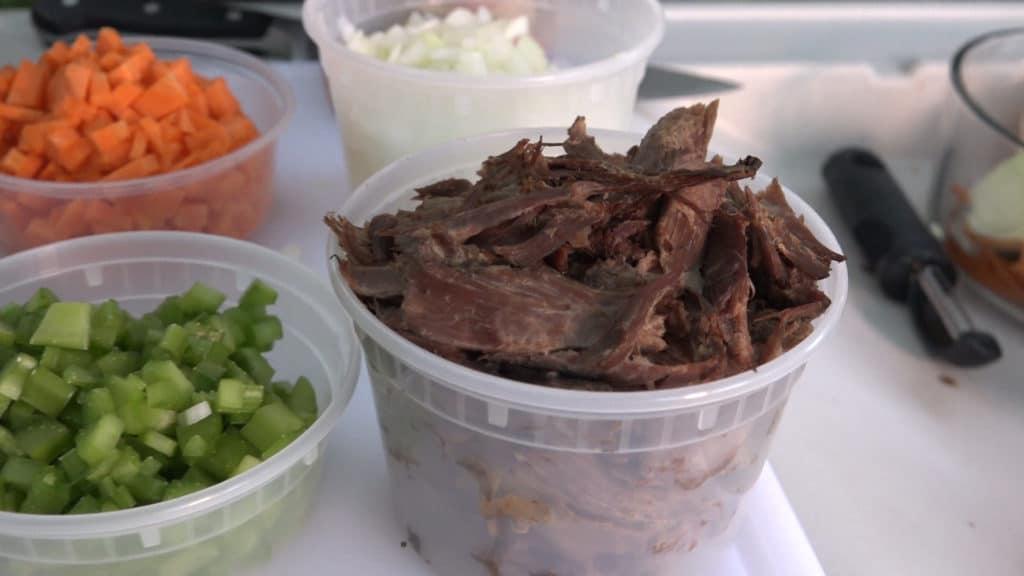 Wild turkey and wild rice soup - Modern Carnivore