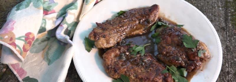 Wild Turkey Piccata - Modern Carnivore