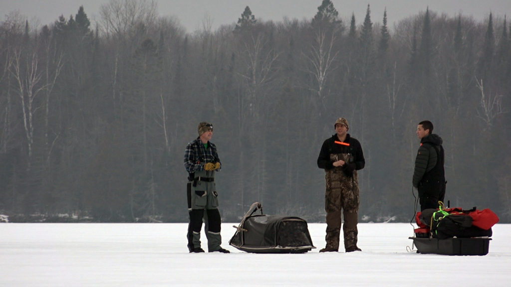 Darkhouse-spearfishing-Hardwater-Hunters-on-the-ice-Modern-Carnivore